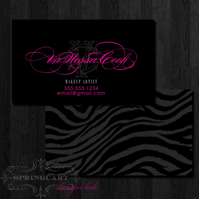 Makeup-artist-business-card