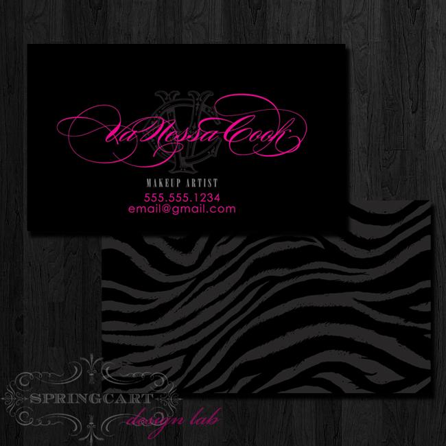 Makeup-artist-business-card
