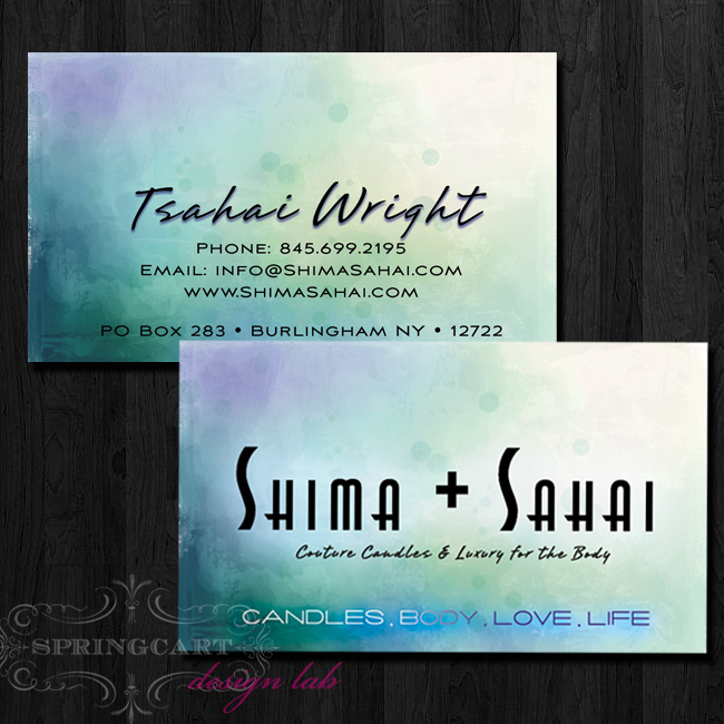 Shima-business-card-design